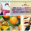 Citrusiniai kvapai ir spalvos