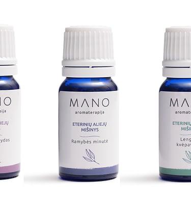 """Eterinių aliejų rinkinys """"Aromaterapinė vaistinėlė"""""""